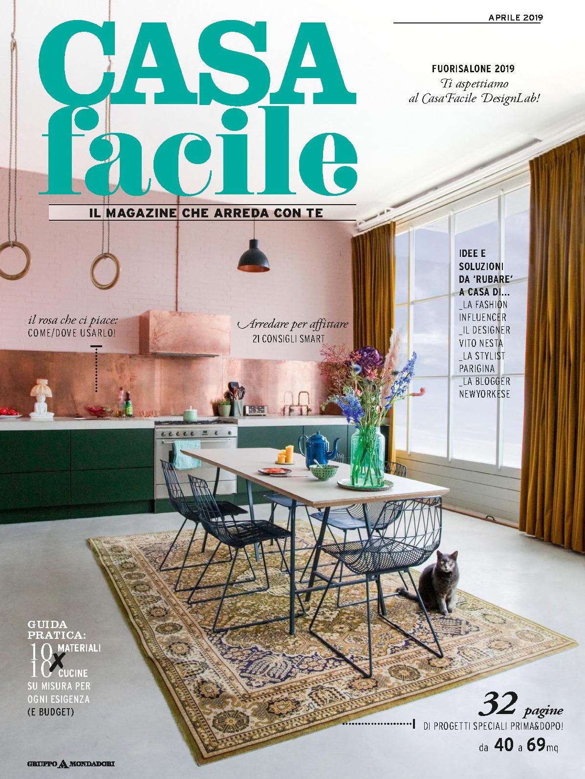 《Casa Facile》意大利家居空间装饰艺术杂志2019年04月号