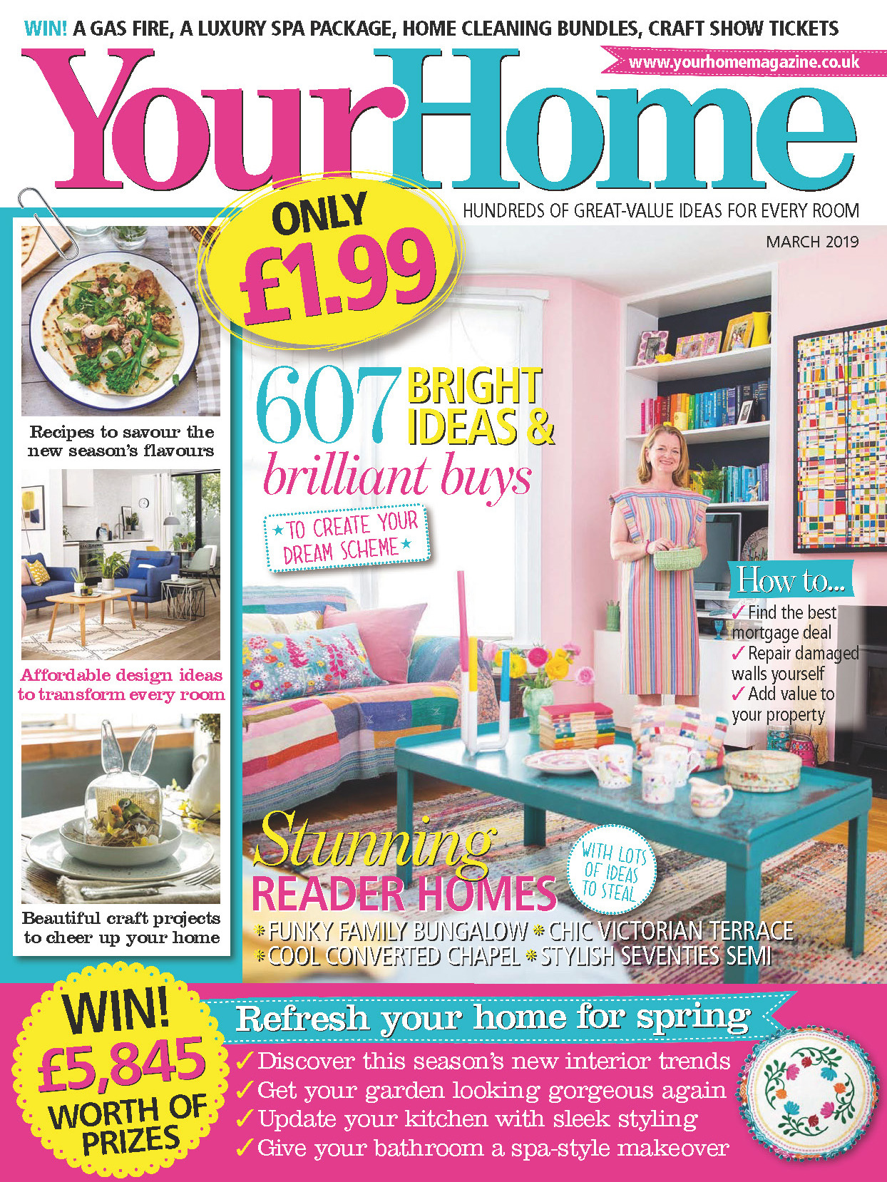 《Your Home》英国家居设计杂志2019年03月号