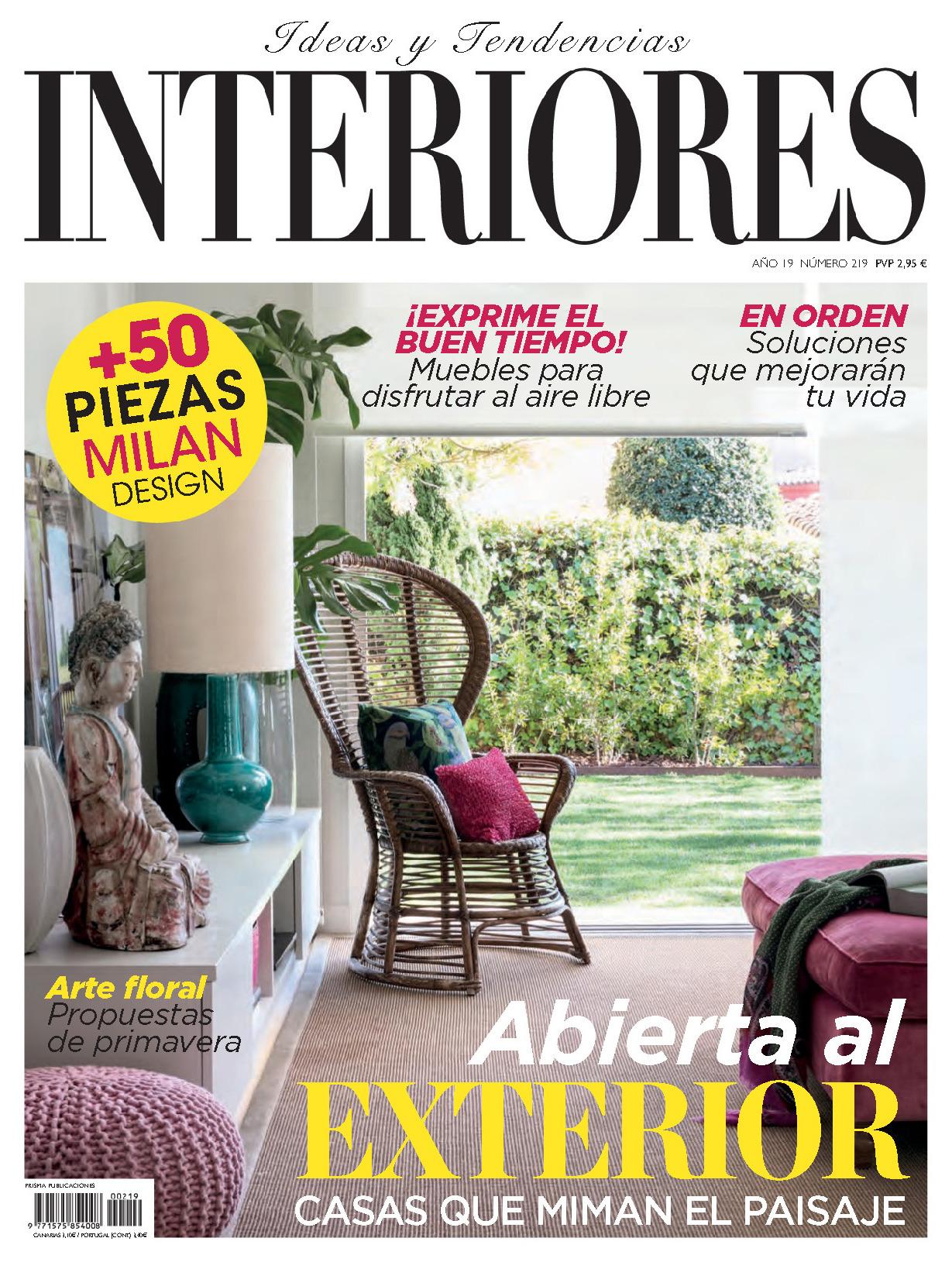 《Interiores》西班牙室内时尚杂志2019年04月号