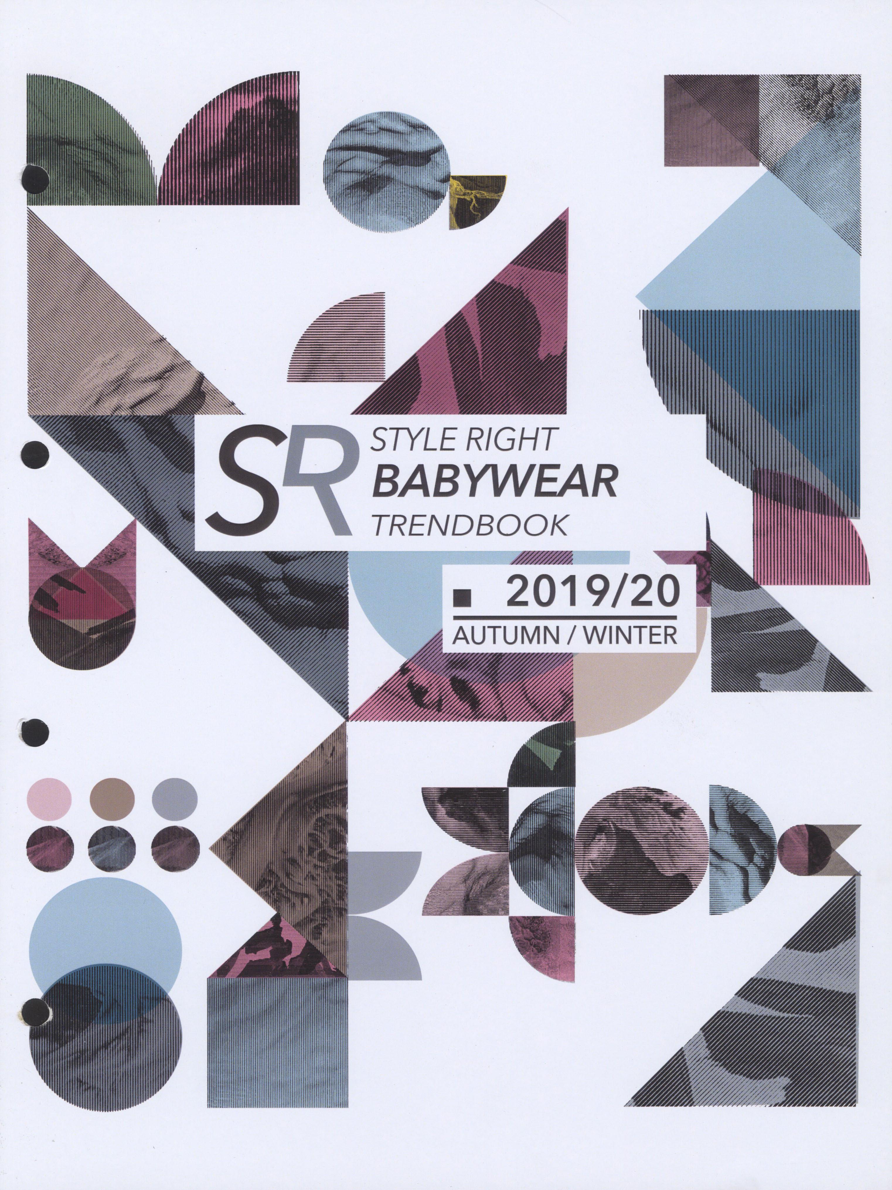 《Style Right》2019-2020秋冬德國寶寶裝趨勢手稿