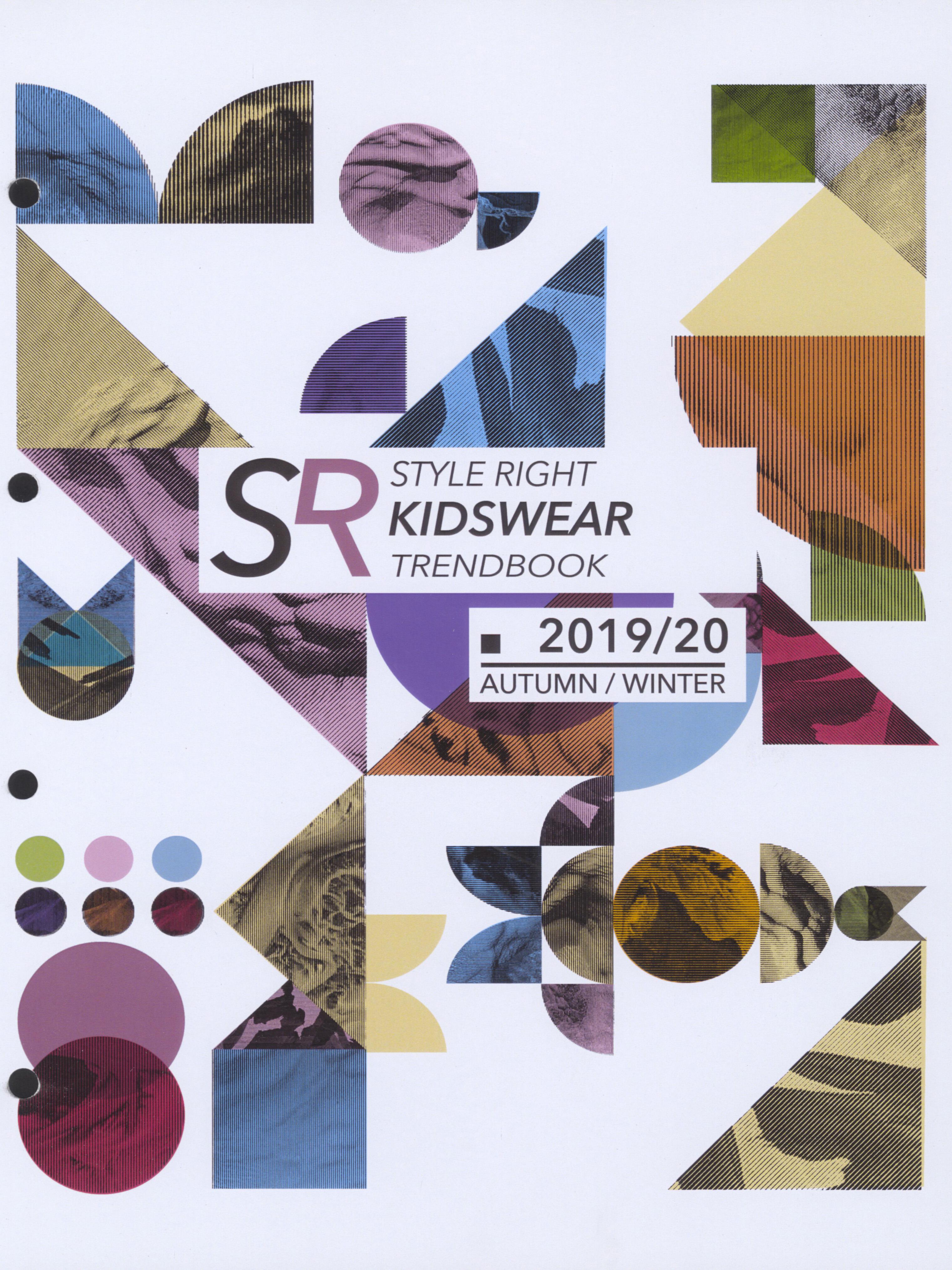 《Style Right》2019-2020秋冬德國童裝趨勢手稿