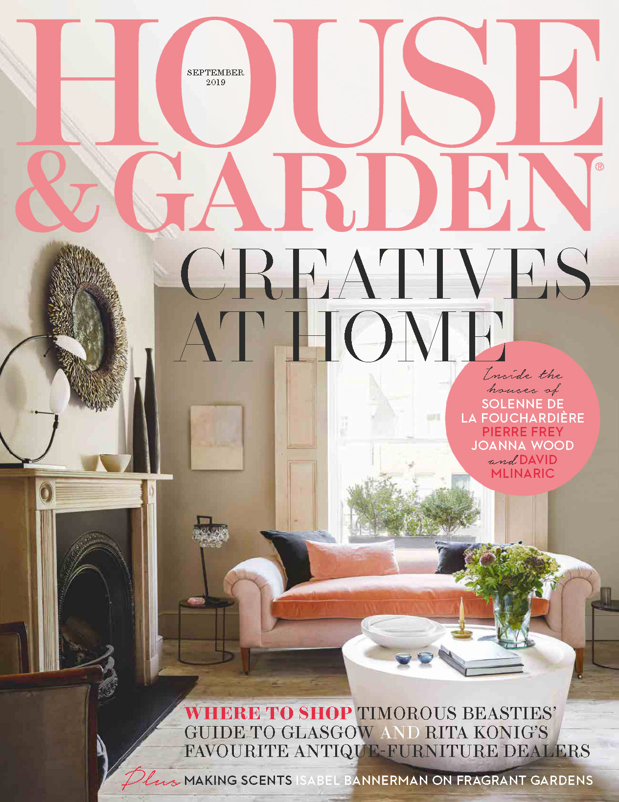 《House & Garden》英国版时尚家居杂志2019年09月号