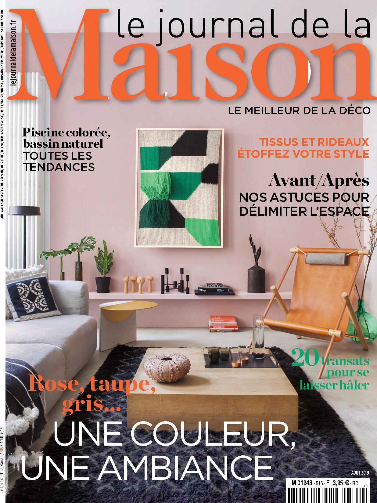 《Le Journal de la Maison》法国版室内装饰设计杂志2019年08月号