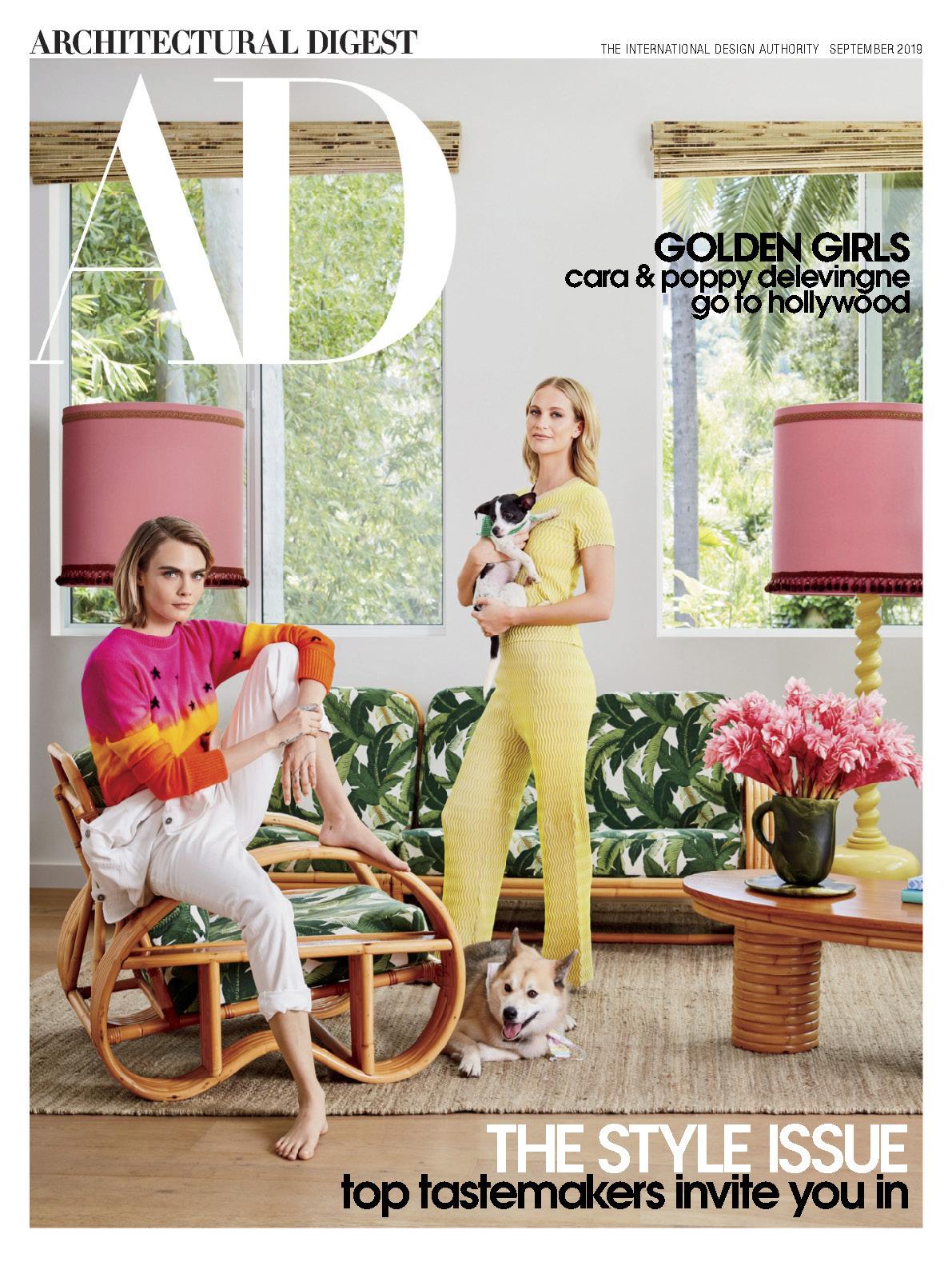 《AD》美国版室内室外设计杂志2019年09月号