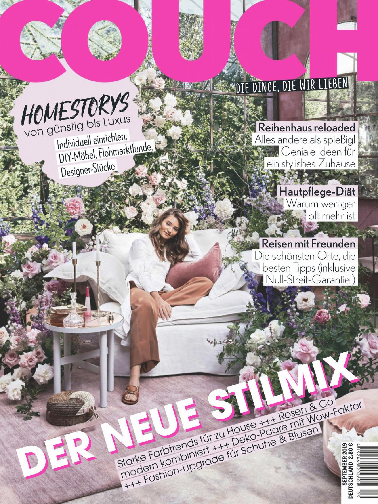 《Couch》德国版时尚家居设计杂志2019年09月号