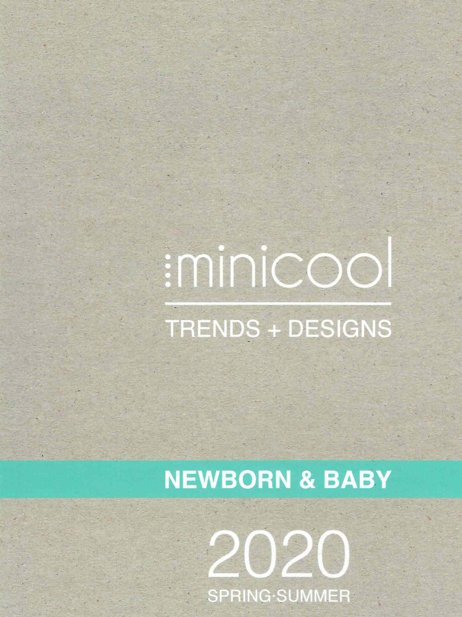 《Minicool》2020春夏西班牙嬰童趨勢書稿