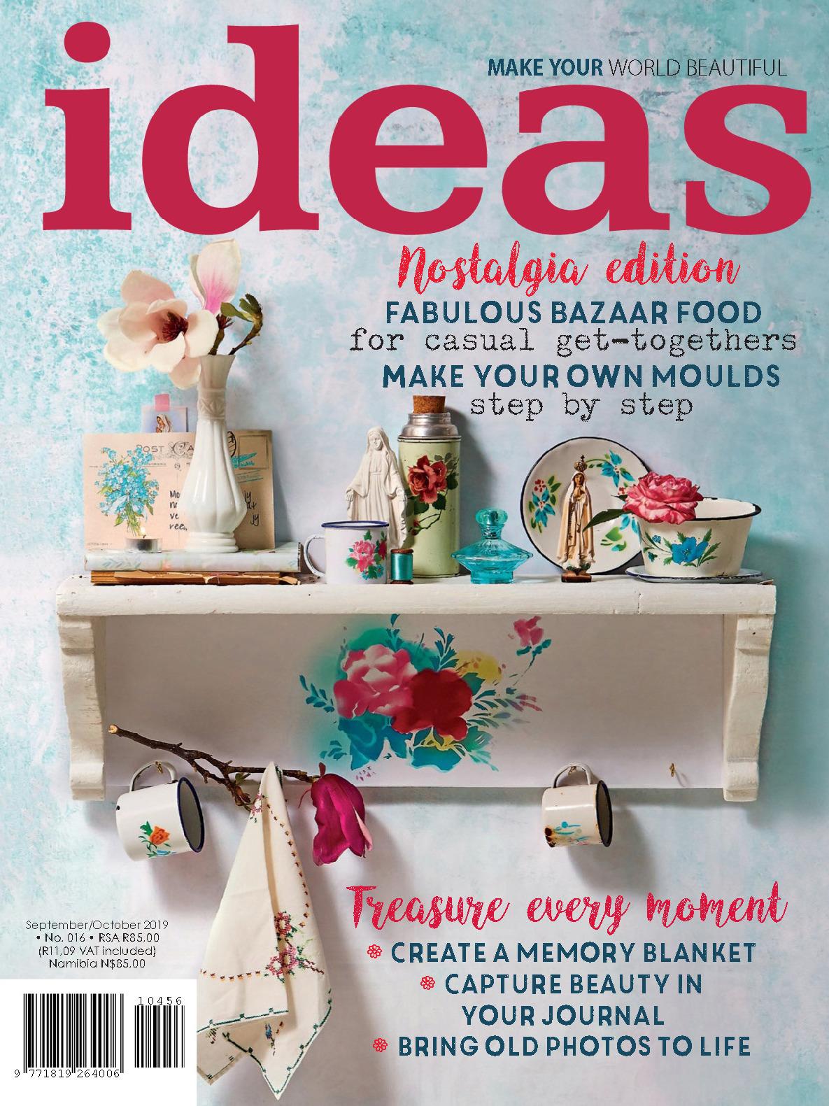 《ideas》南非版时尚家居设计杂志2019年09-10月号