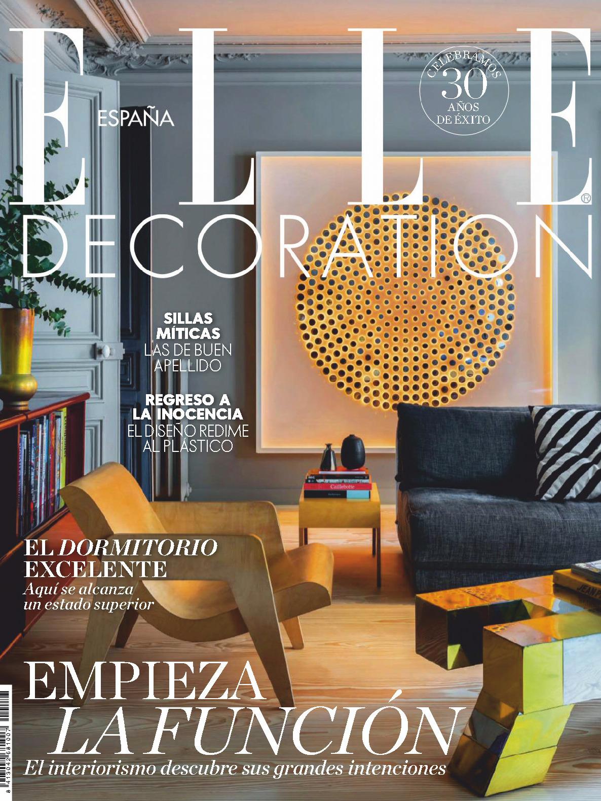 《Elle Decoration》西班牙版時尚家居雜志2019年09月號