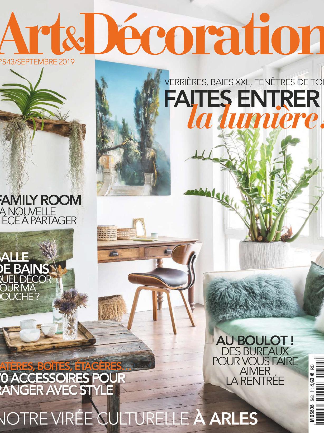 《Art&Decoration》法國版時尚綜合雜志2019年09月號