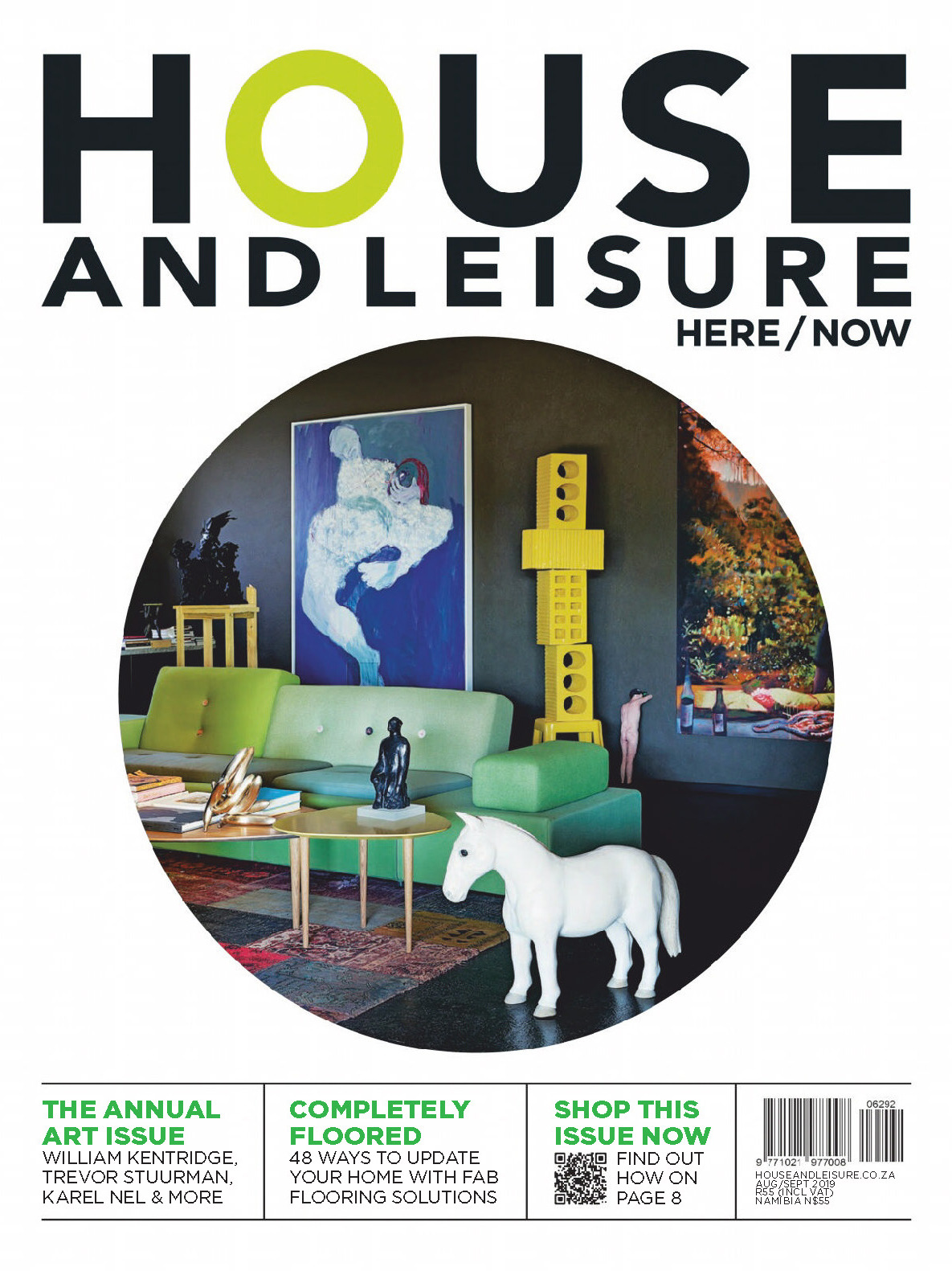 《House and Leisure》南非版时尚家居设计杂志2019年08-09月号