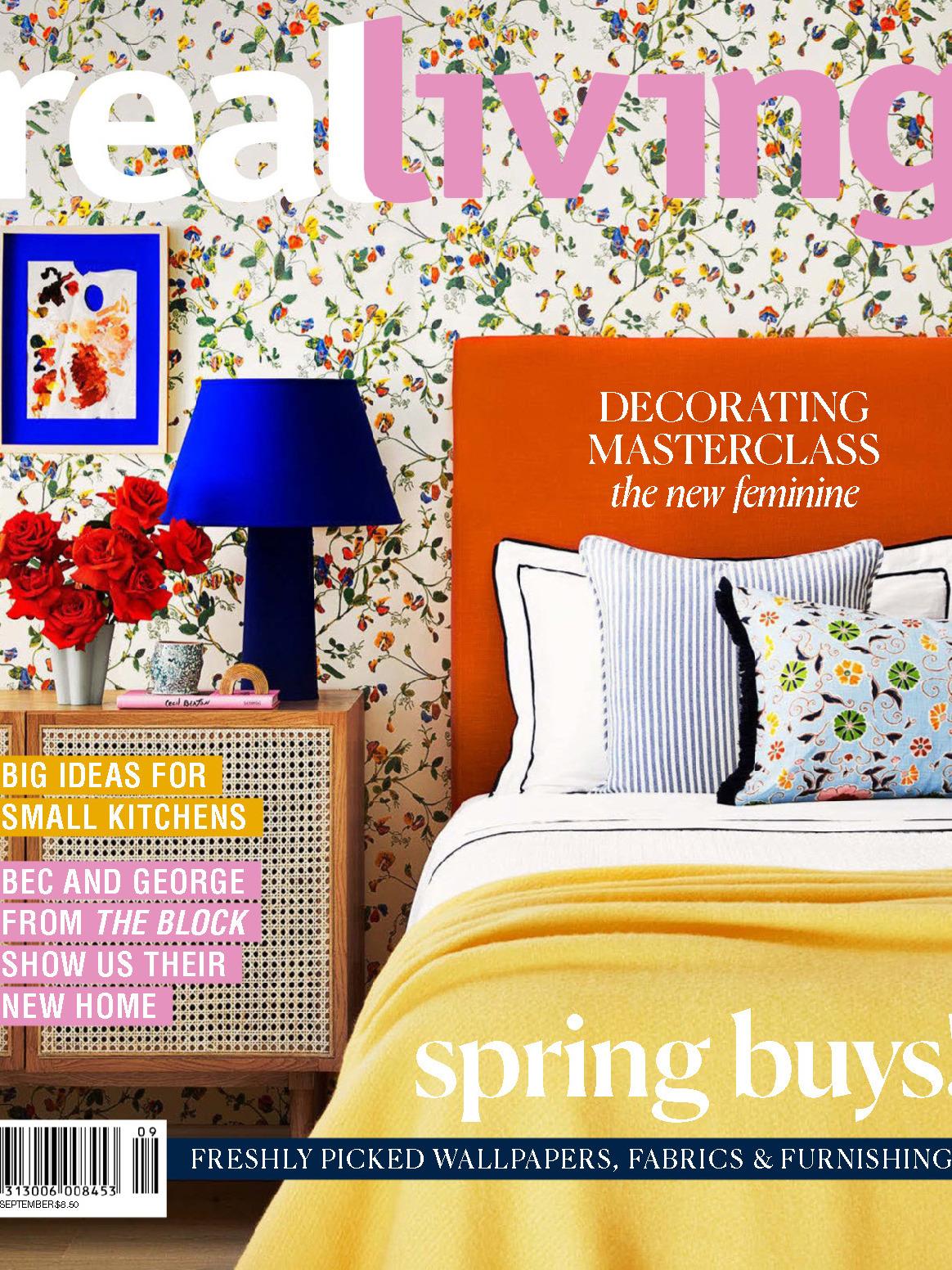 《Real Living》澳大利亚室内设计趋势杂志2019年09月号