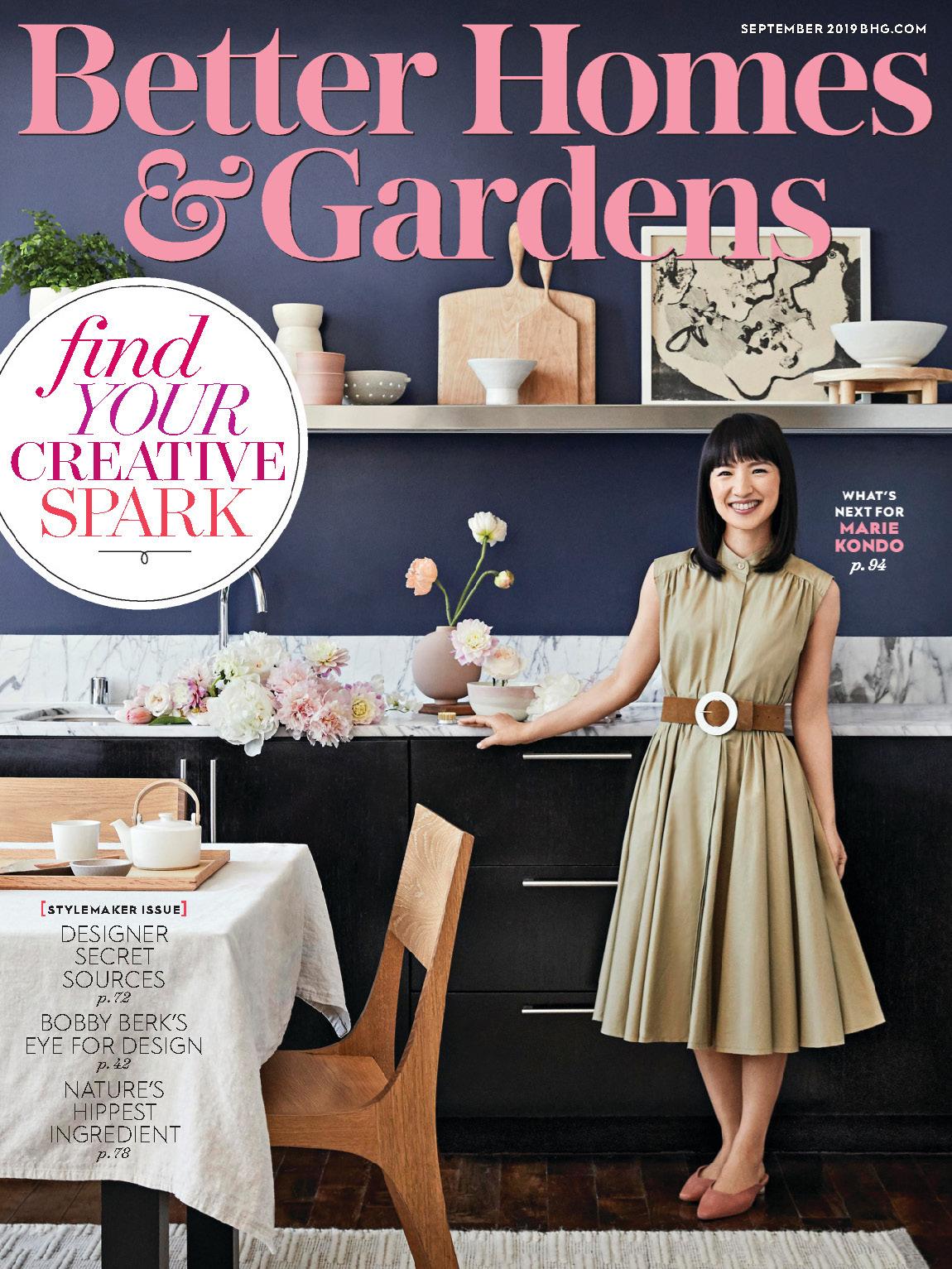 《Better Homes and Gardens》美国版时尚家居杂志2019年09月号