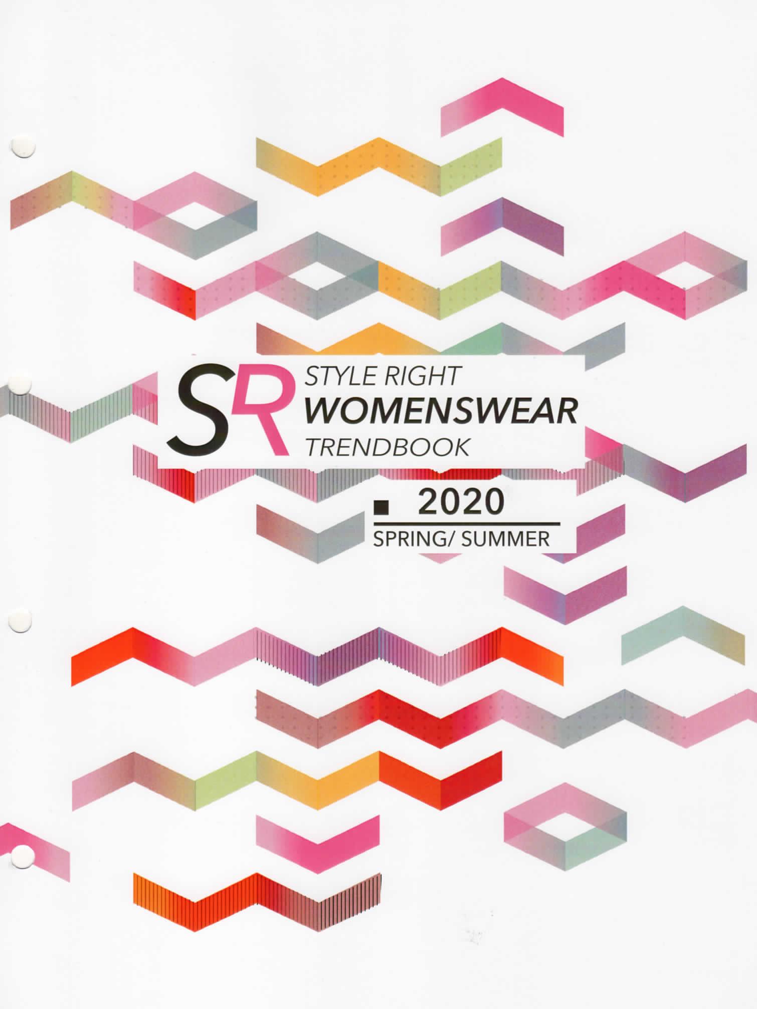《Style Right》2020春夏德國女裝趨勢手稿