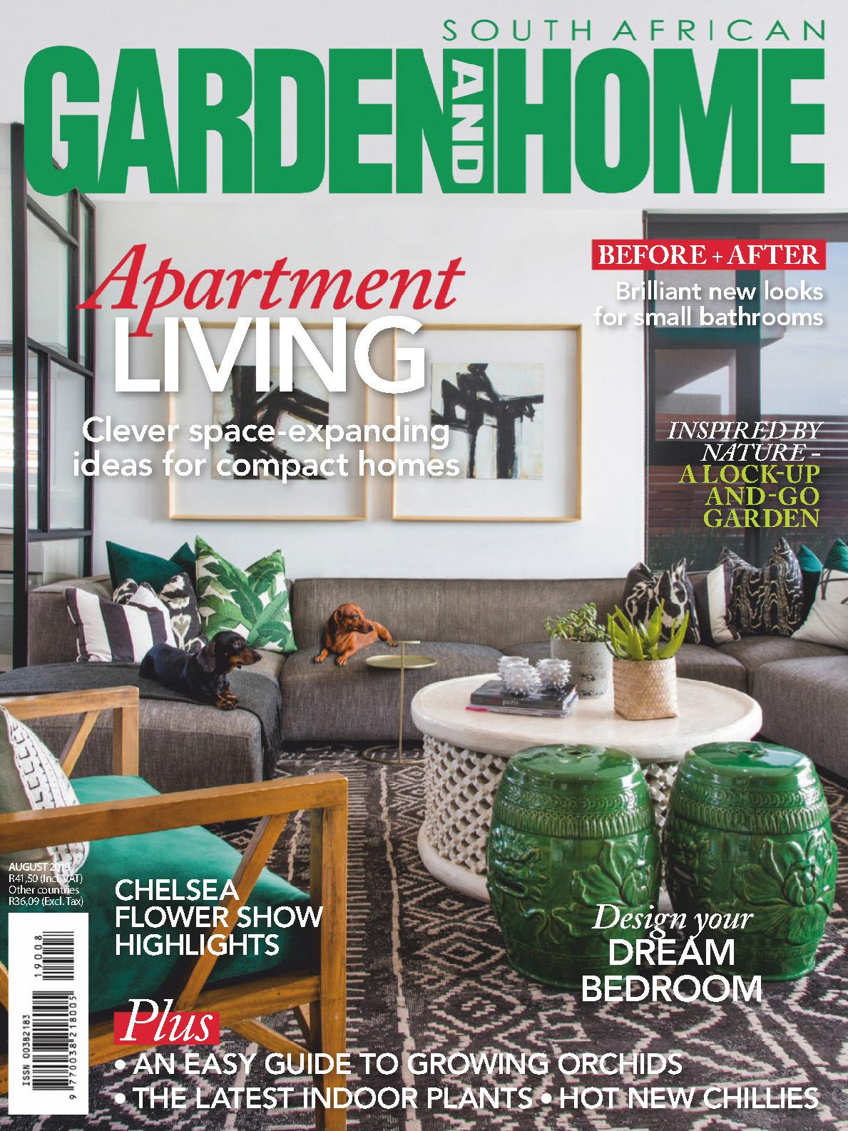《Garden and Home》南非版時尚家居雜志2019年08月號