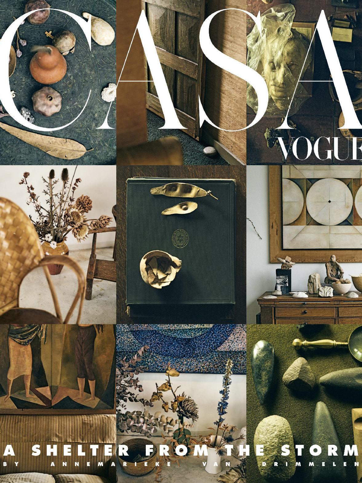 《Casa Vogue》意大利版时尚室内设计杂志2019年10月号