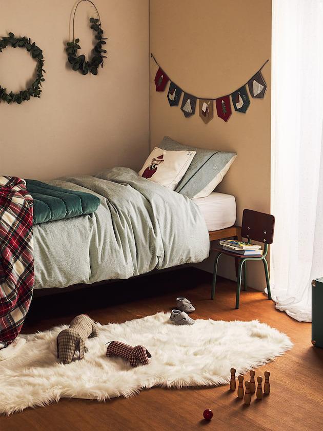 《ZARA HOME kids》2019秋冬圣诞节主题家居用品系列Lookbook