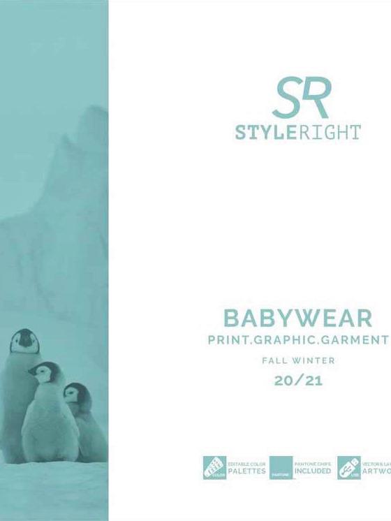 《Style Right》2020-21秋冬德國寶寶裝趨勢手稿