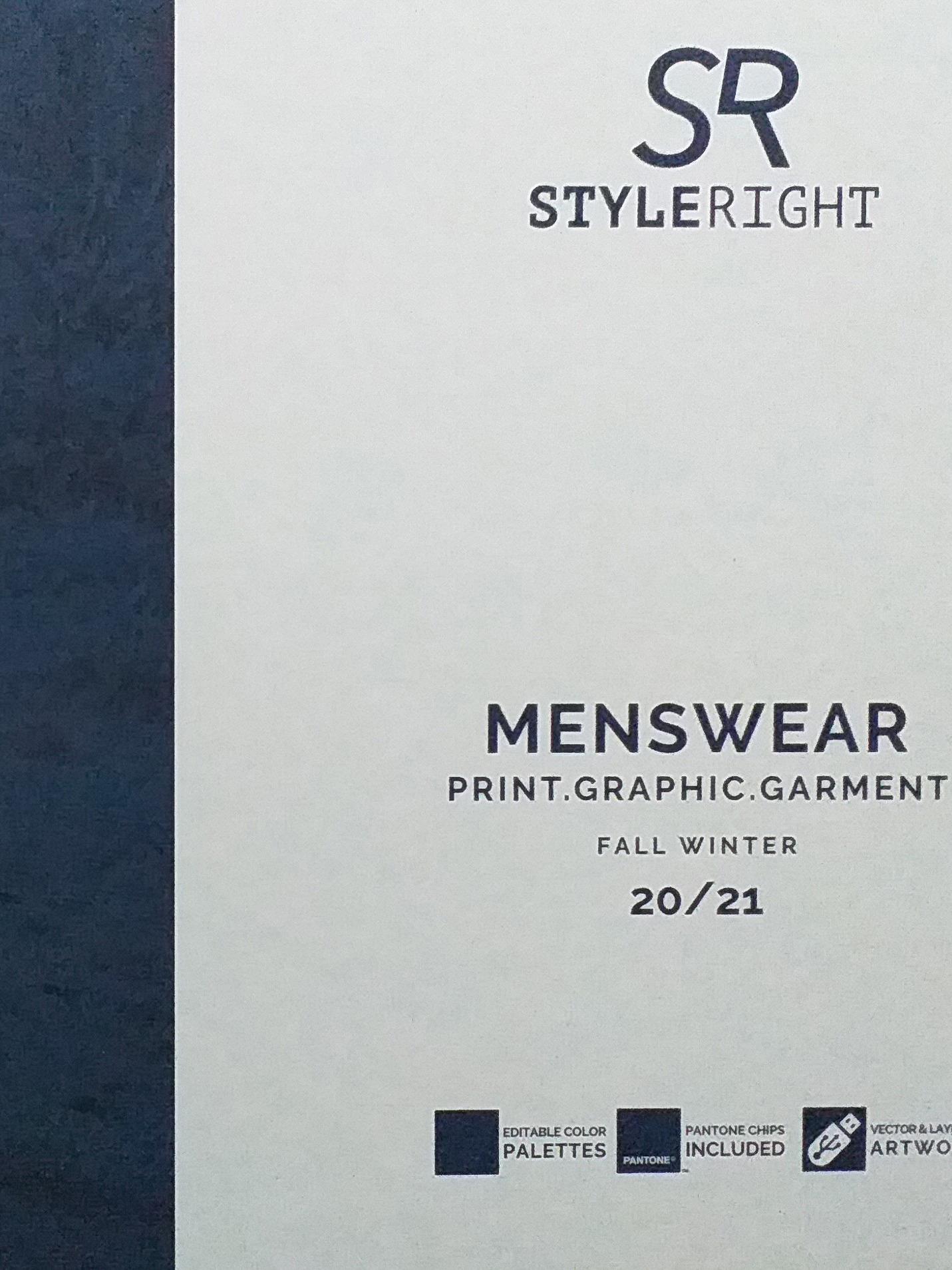 《Style Right》2020-21秋冬德國男裝趨勢手稿