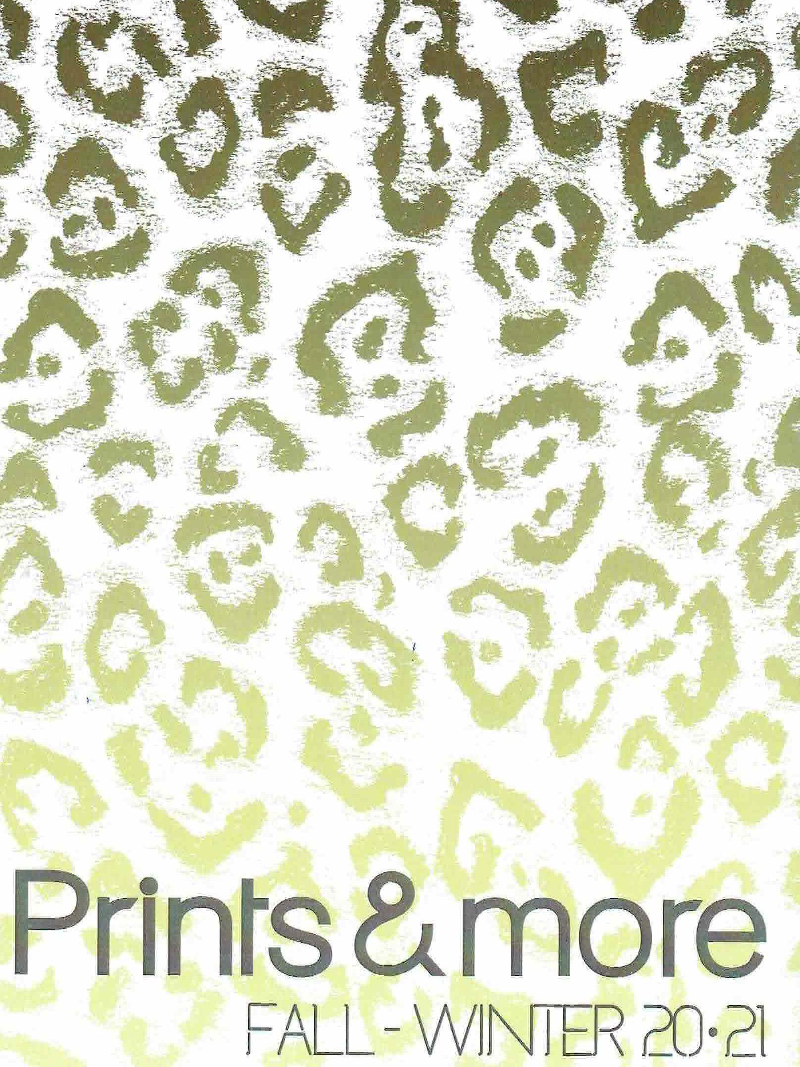 《Prints & More》2020-21秋冬意大利主題面料趨勢手稿