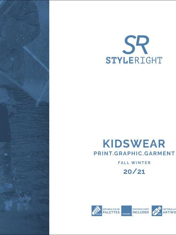 《Style Right》2020-21秋冬德國童裝趨勢手稿