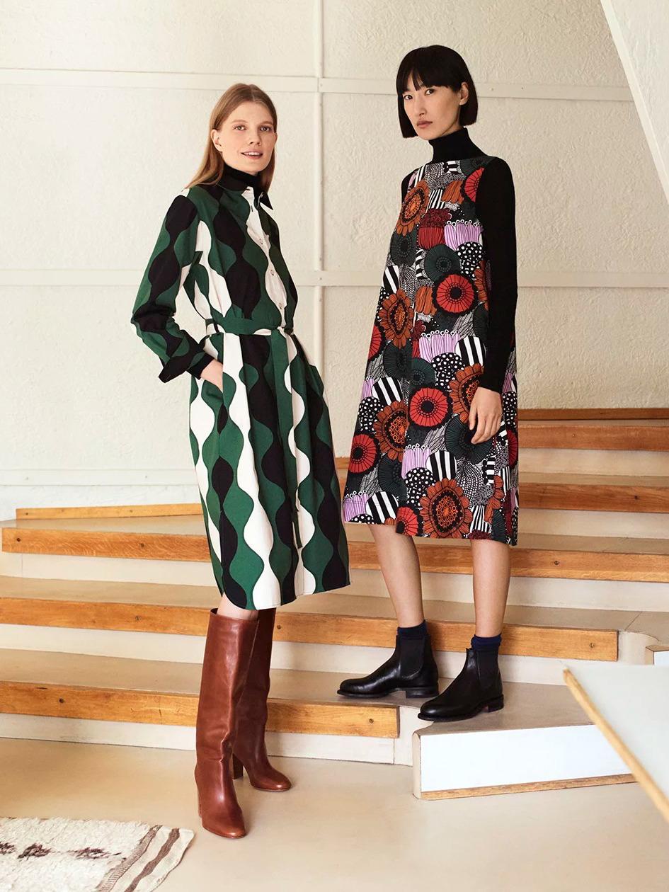《UNIQLO x Marimekko》2019秋冬UNIQLO与Marimekko的联名合作系列Lookbook