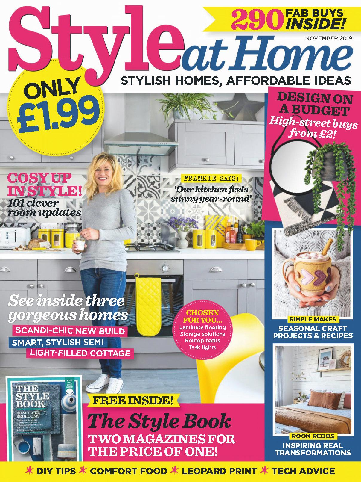 《Style at Home》英国版时尚家居杂志2019年11月号