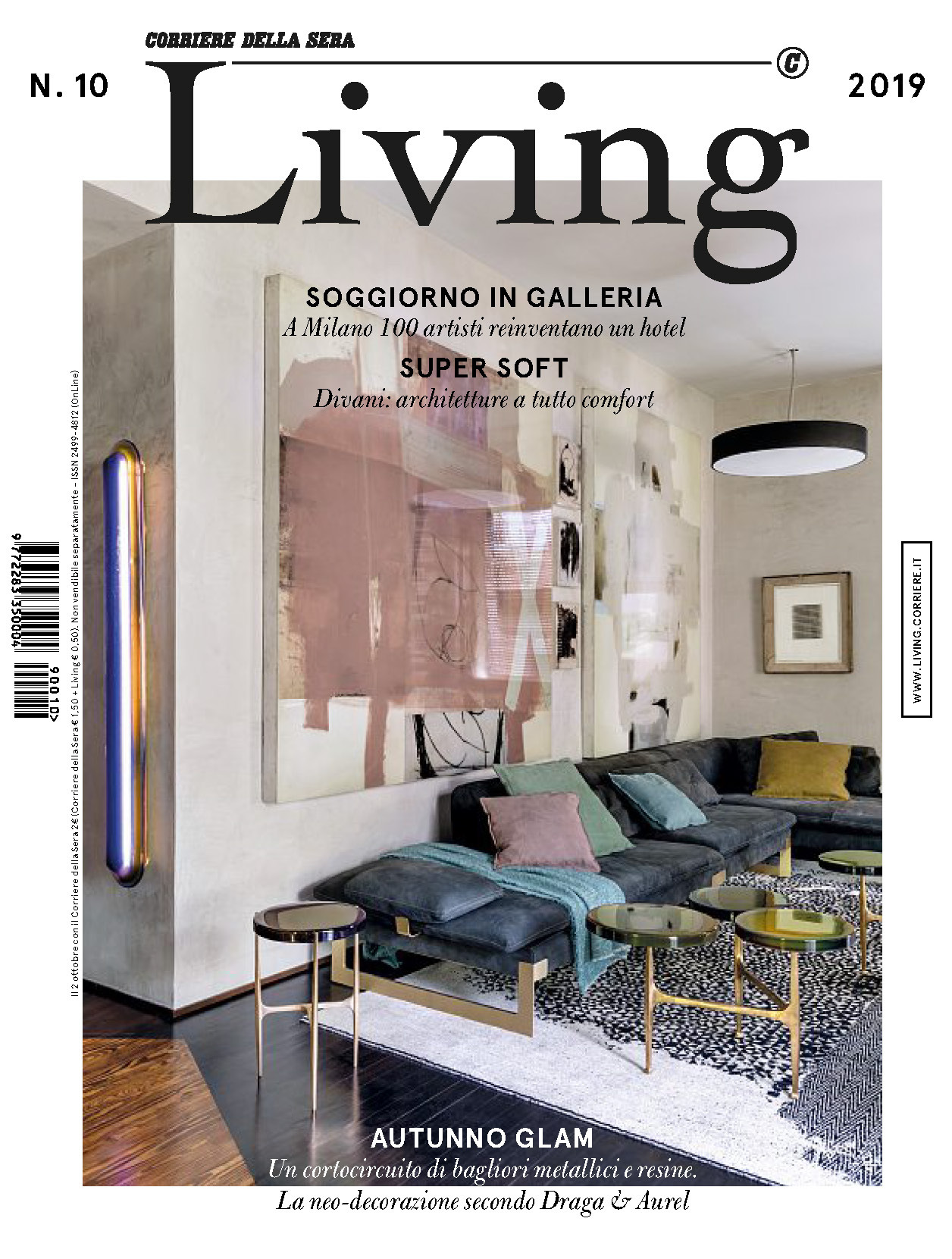 《Living》意大利版时尚家居杂志2019年10月号