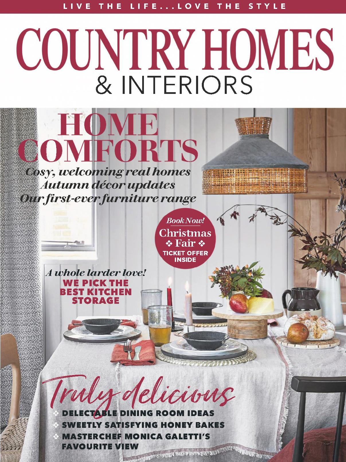 《Country Homes & Interiors》英國家居裝飾雜志2019年11月號
