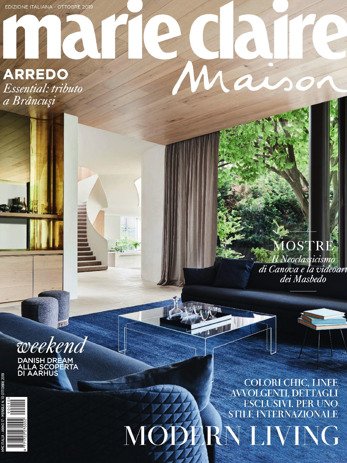 《Marie Claire maison》意大利版时尚室内设计杂志2019年10号