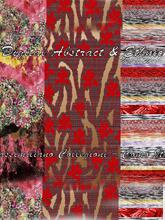 《Digital Abstract & Ethnic》2021春夏意大利数码印花面料趋势手稿