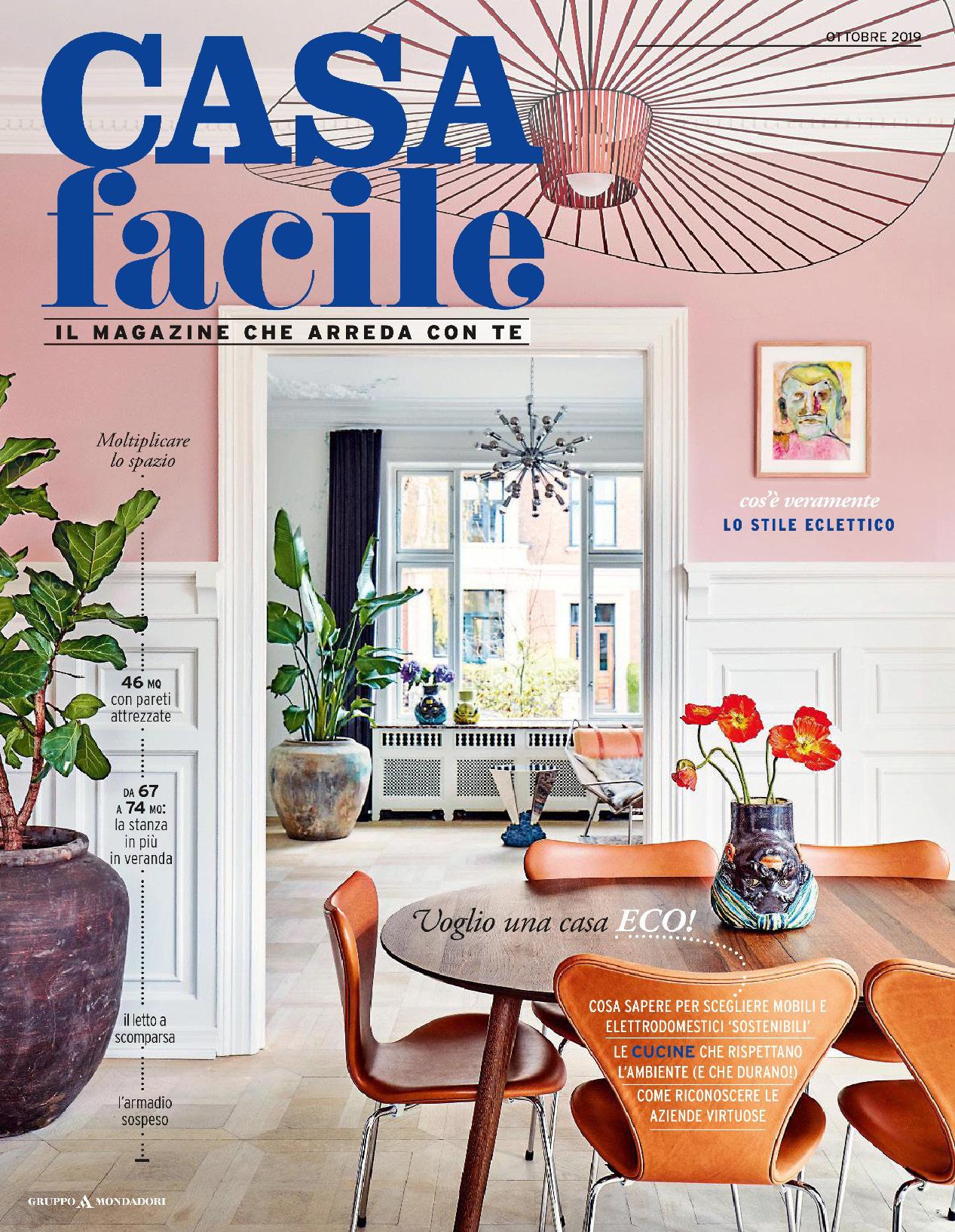 《Casa Facile》意大利家居空间装饰艺术杂志2019年10月号