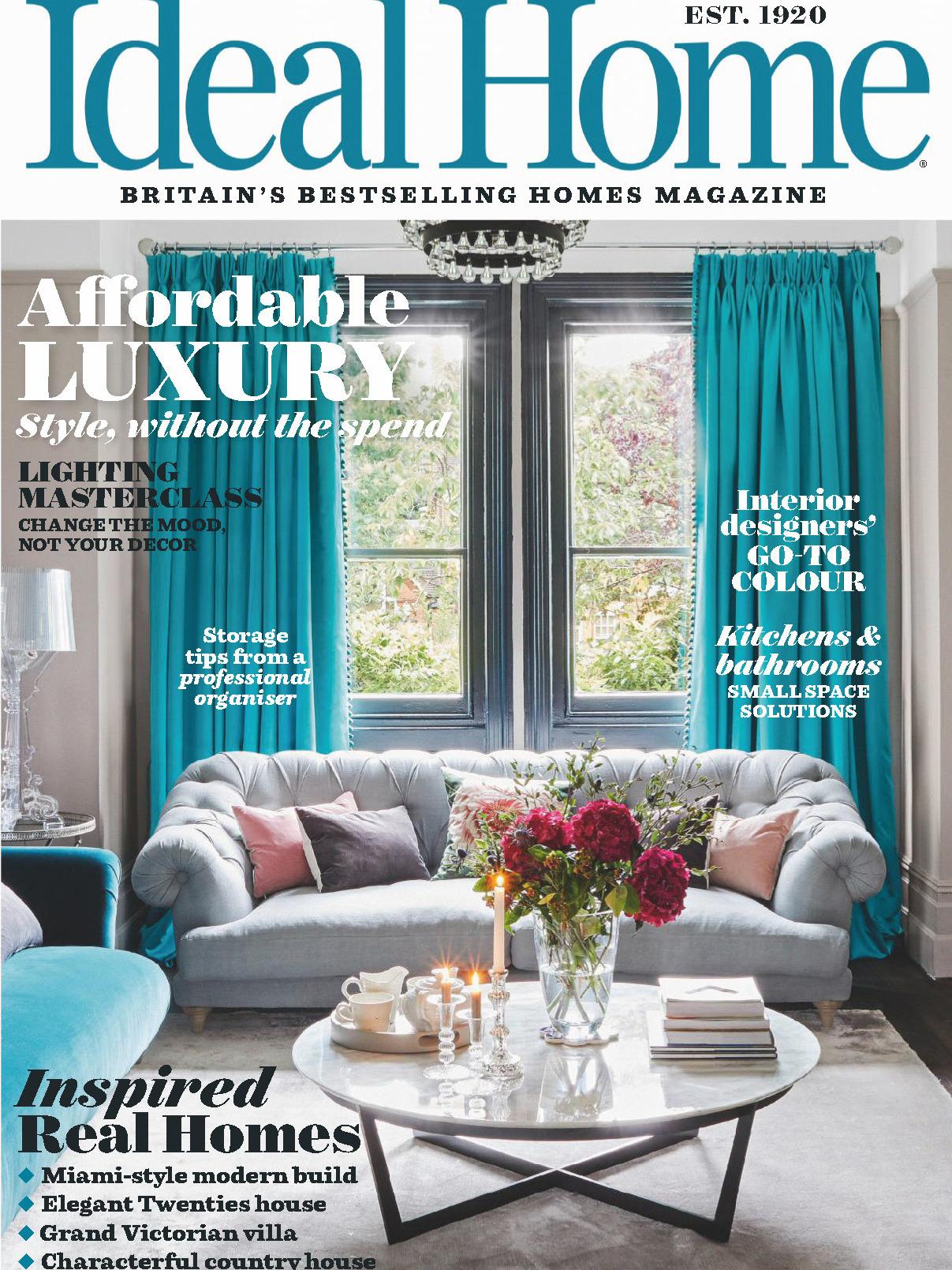 《Ideal Home》英国版理想的家园杂志2019年11月号