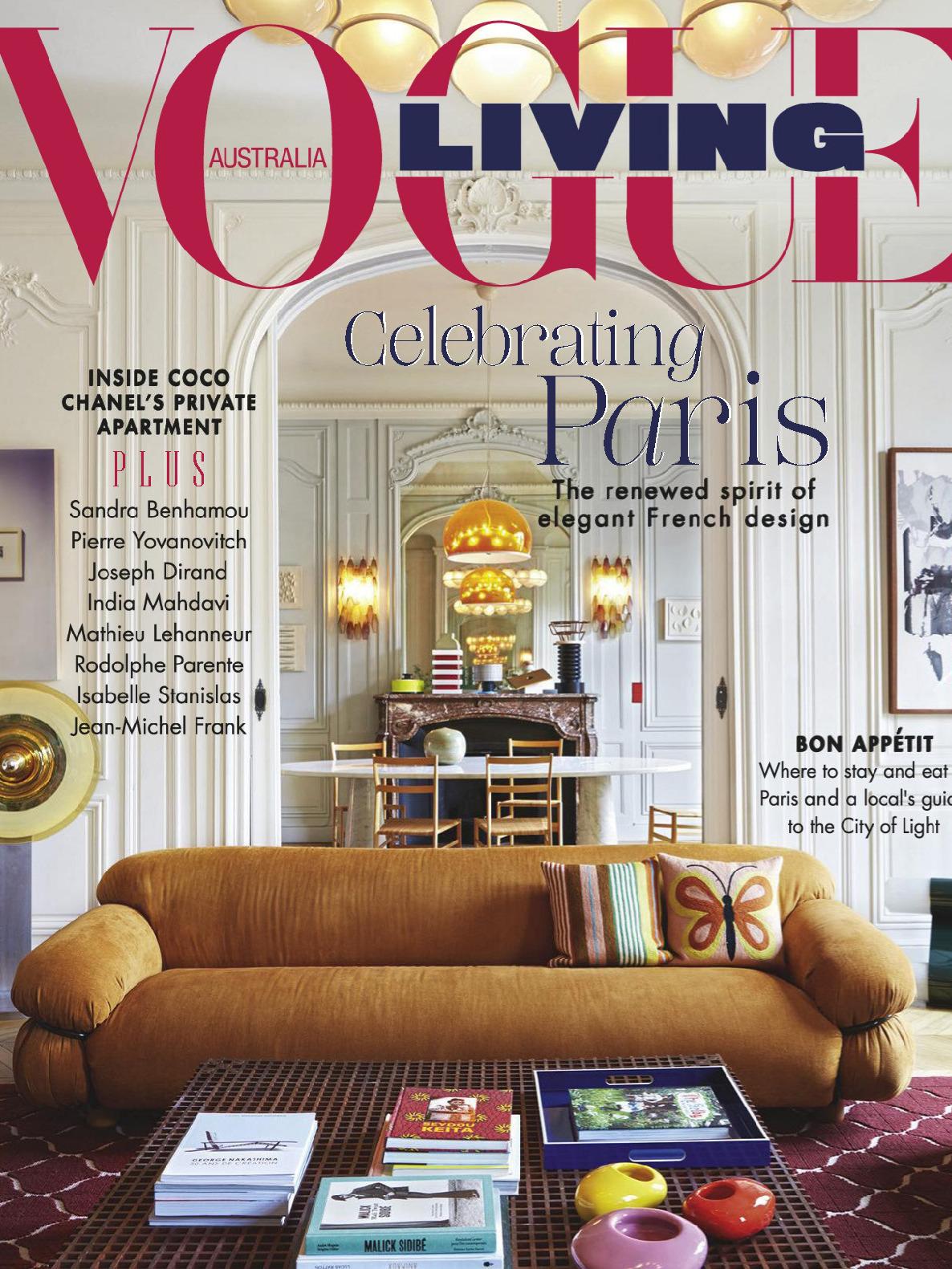 《Vogue Living》澳大利亚版时尚家居设计杂志2019年11-12月号