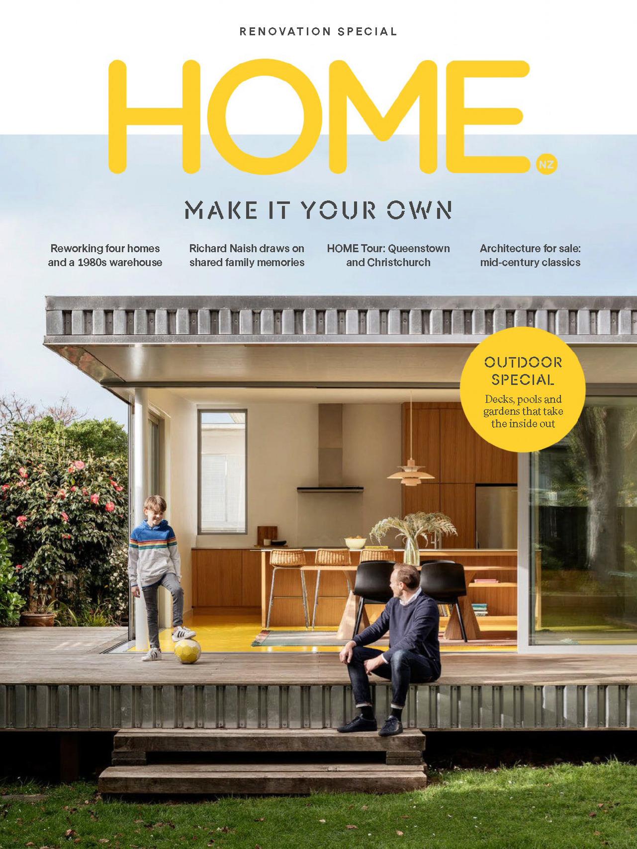 《Home》新西蘭版時尚家居雜志2019年10月號