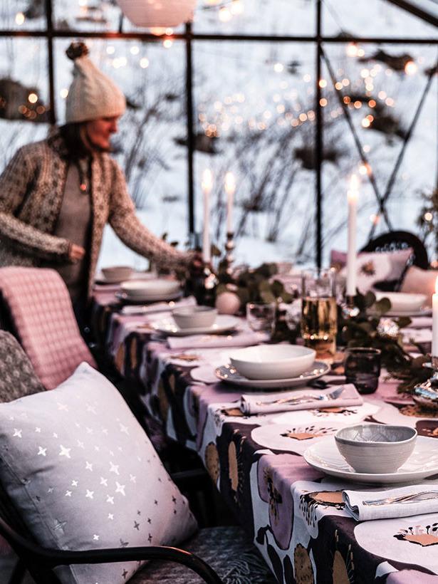 《Pentik》2019秋冬圣诞节主题桌布系列Lookbook