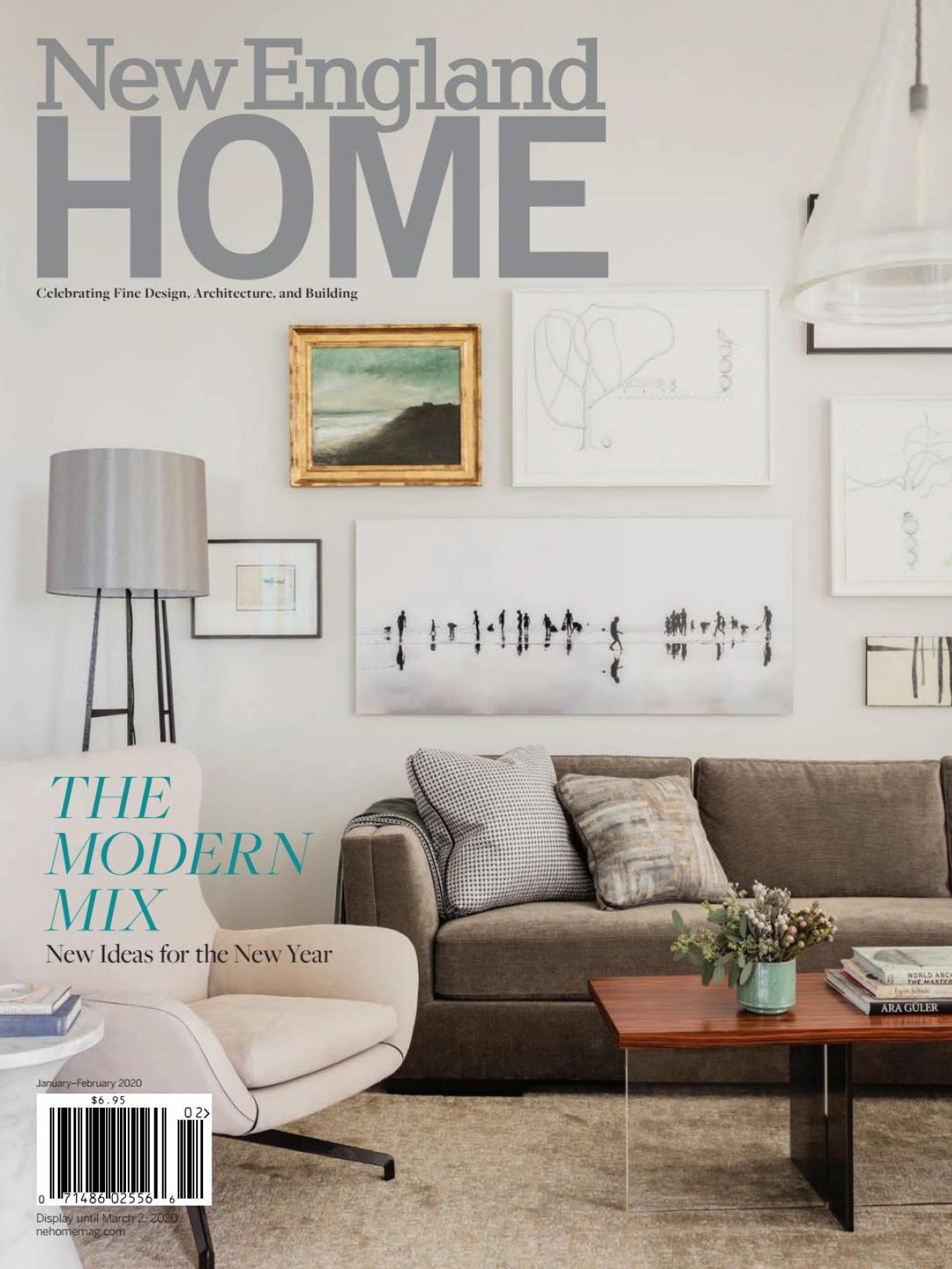 《New England Home》美国室内时尚杂志2020年01-02月号
