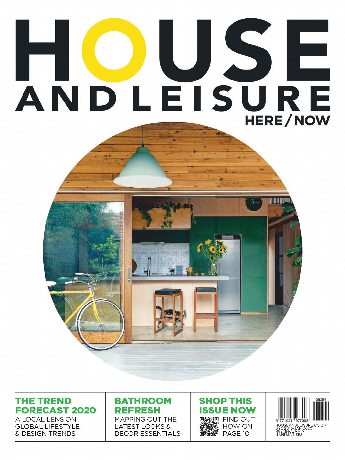 《House and Leisure》南非版时尚家居设计杂志2019年12月-2020年01月号