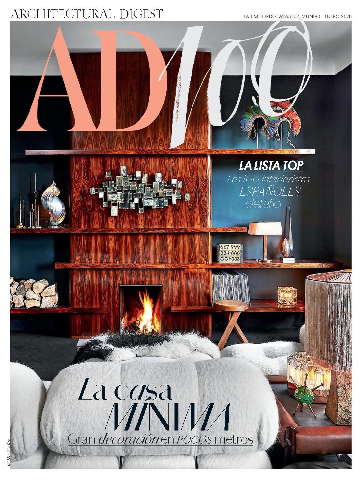 《AD》西班牙版室内室外设计杂志2020年01月号