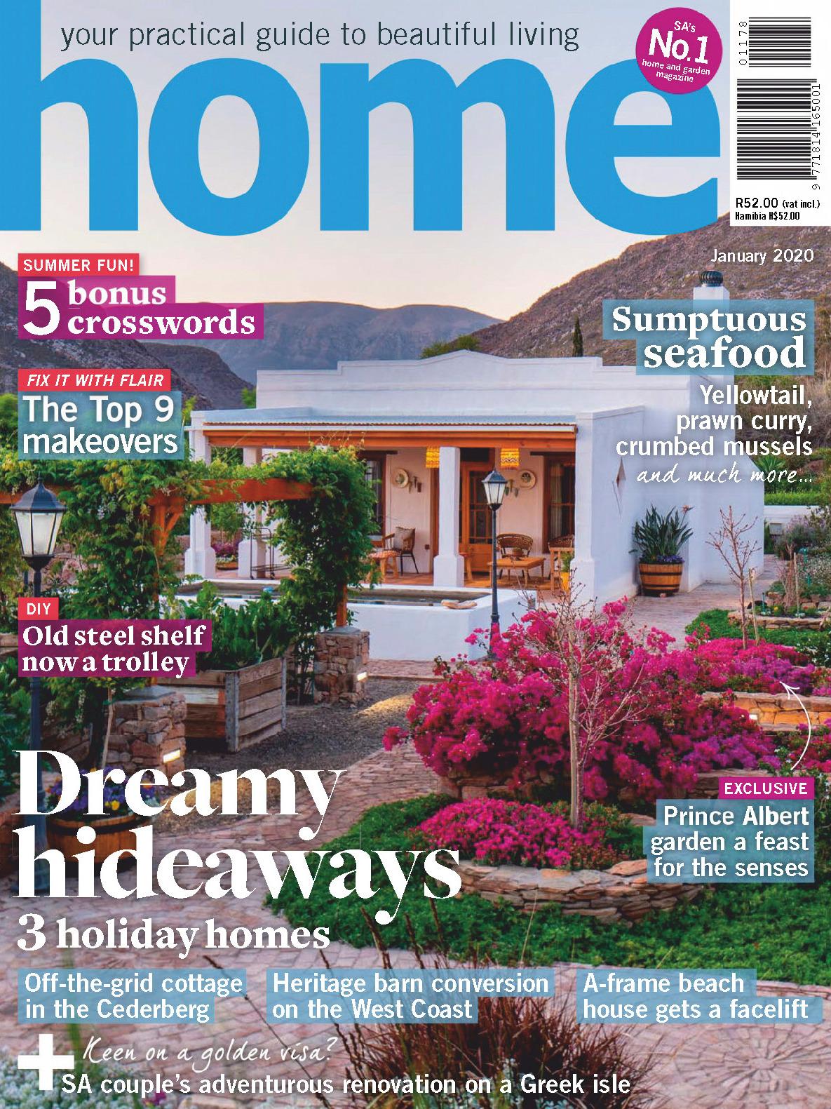 《Home》南非版时尚家居杂志2020年01月号