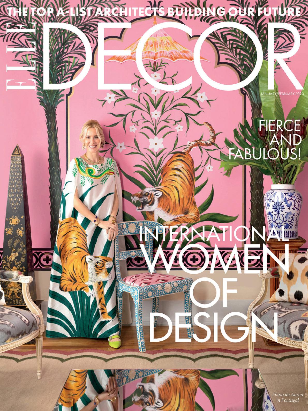 《Elle Decor》美国版时尚家居杂志2020年01月-2020年02月号