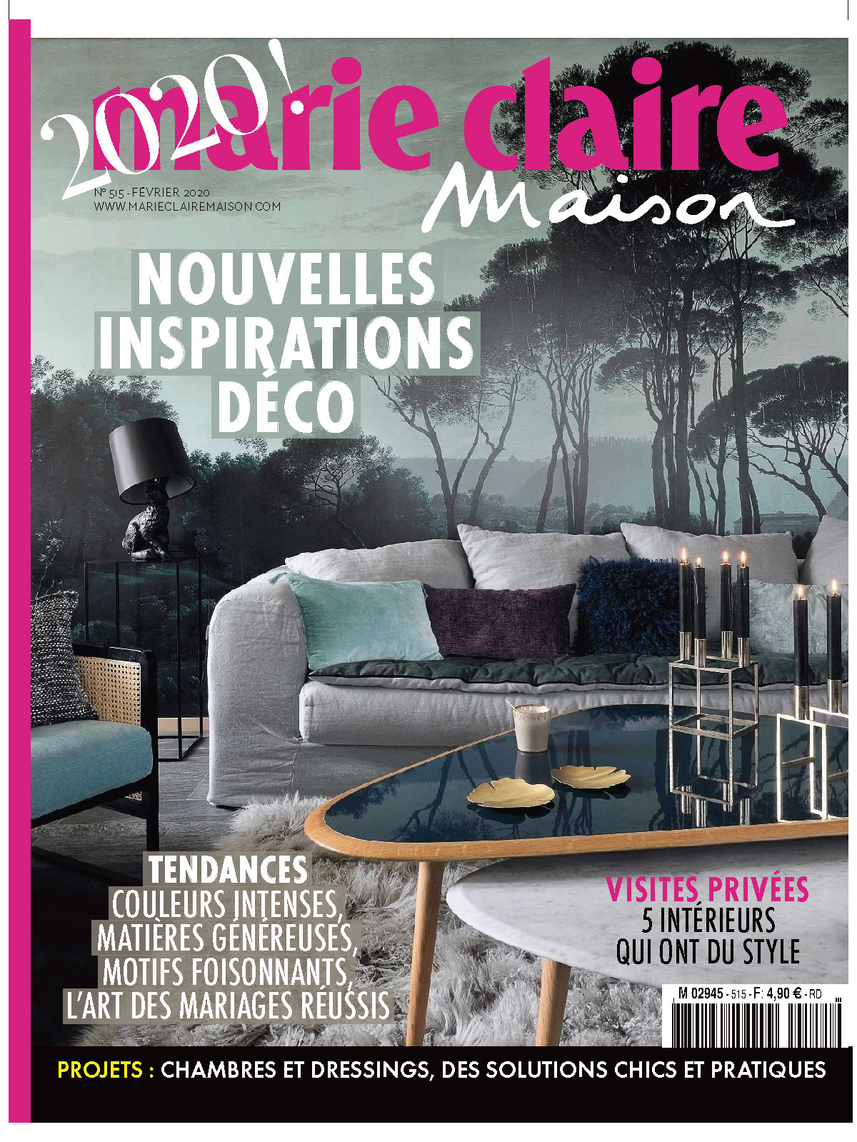 《Marie Claire maison》法国版时尚室内设计杂志2020年02月号