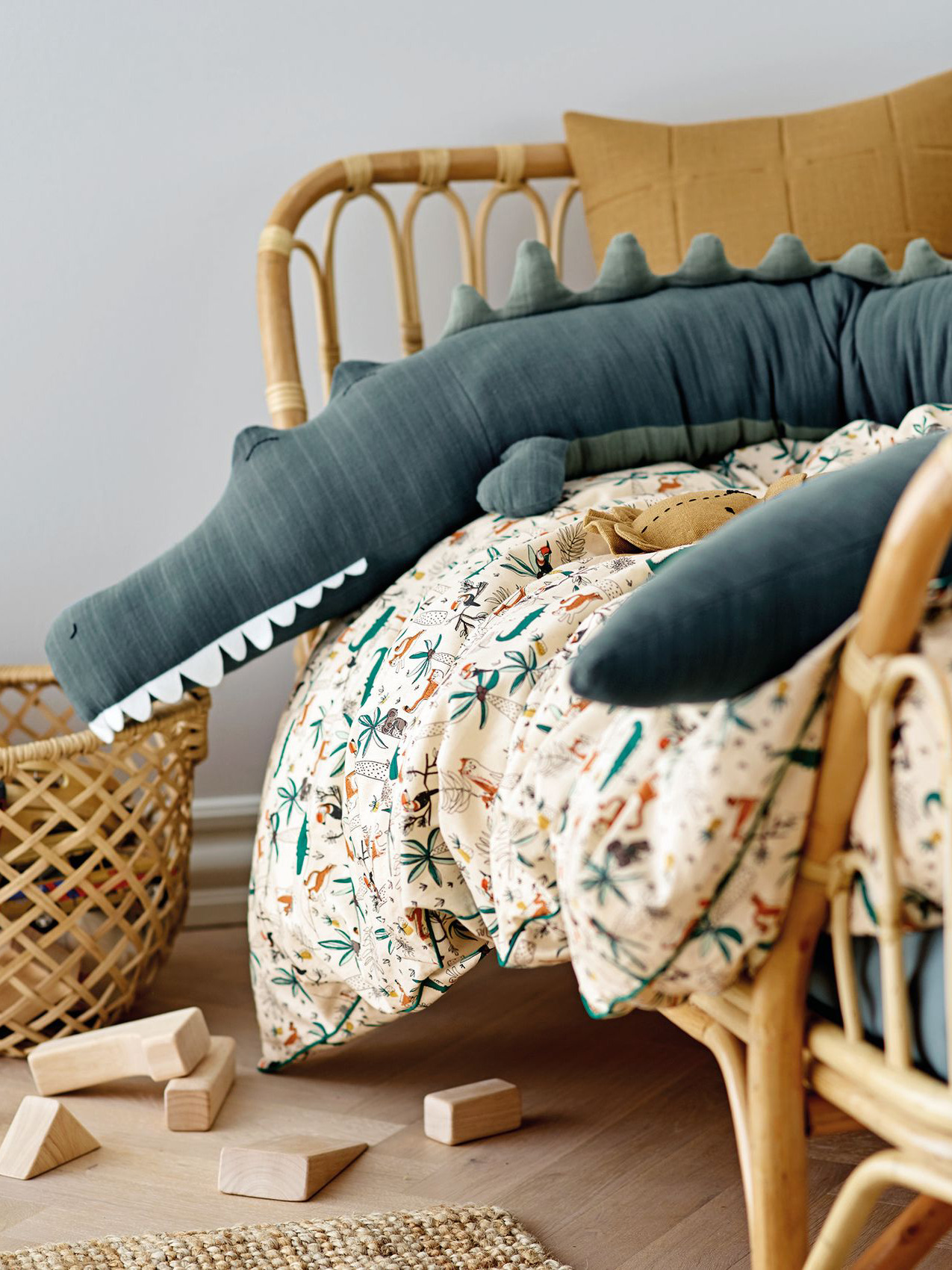 《Stoff & Stil》2020春夏儿童&婴幼童床上用品系列Lookbook