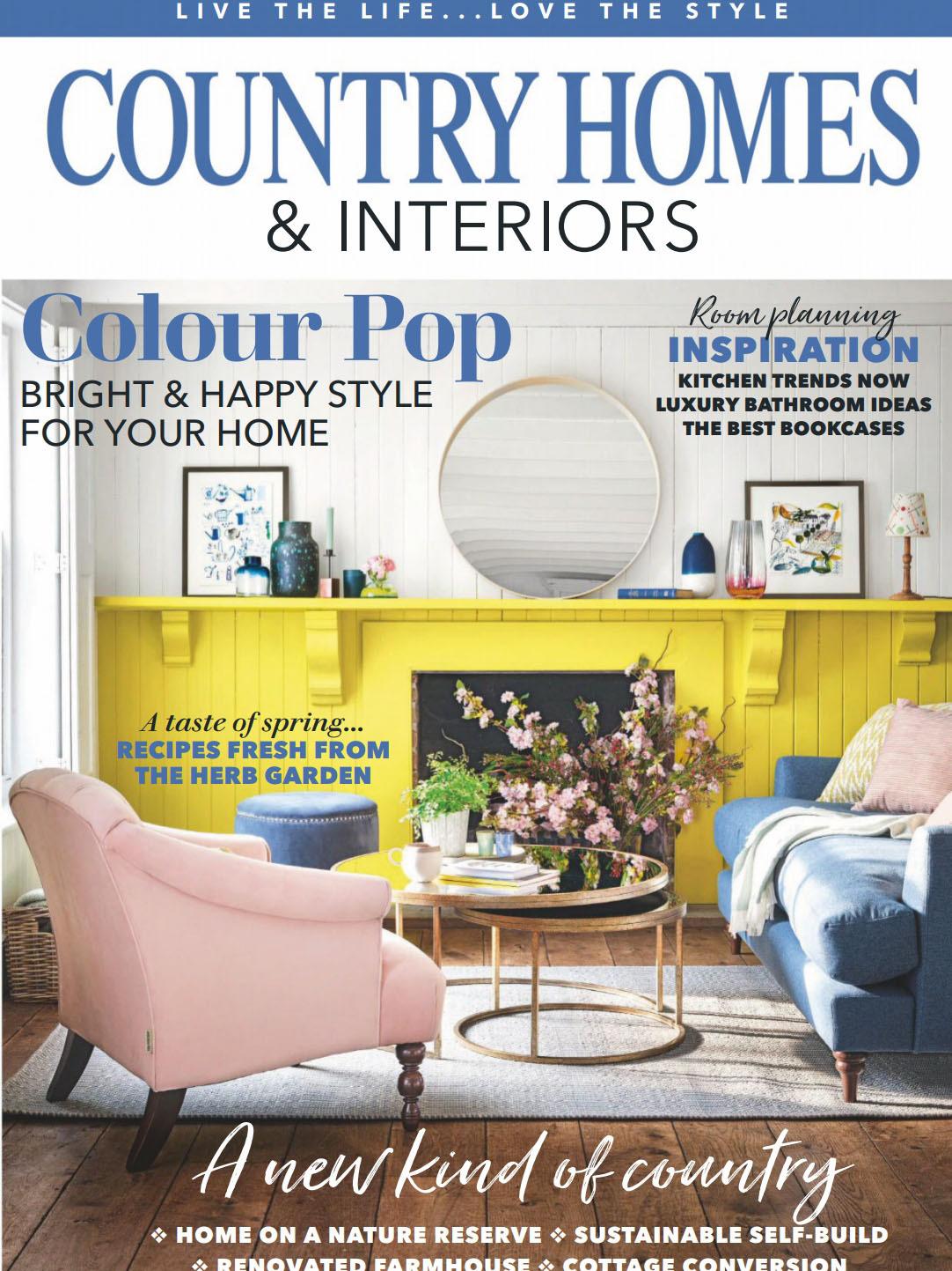 《Country Homes & Interiors》英国家居装饰杂志2020年03月号