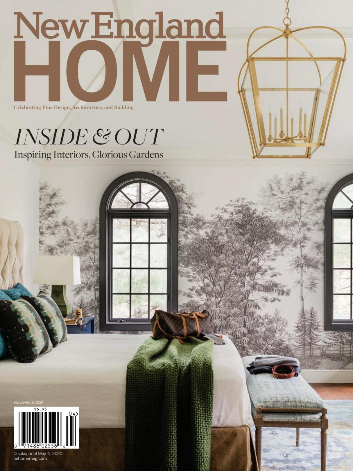 《New England Home》美国室内时尚杂志2020年03-04月号