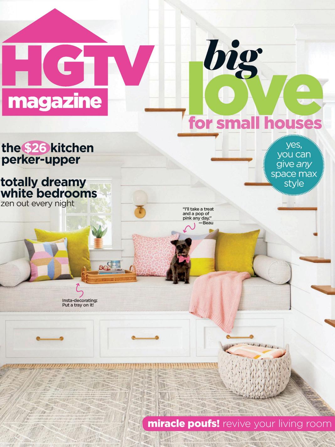 《Hgtv》美国版时尚家居设计杂志2020年03月号