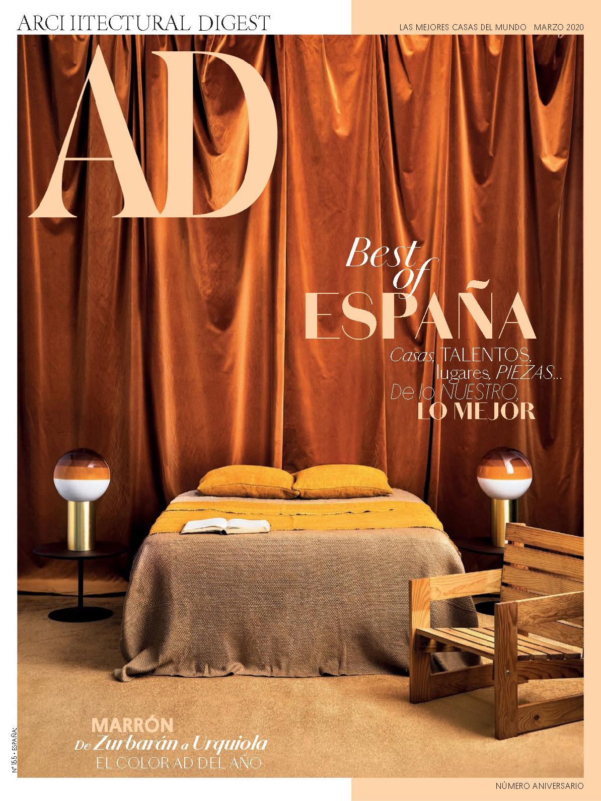 《AD》西班牙版室内室外设计杂志2020年03月号