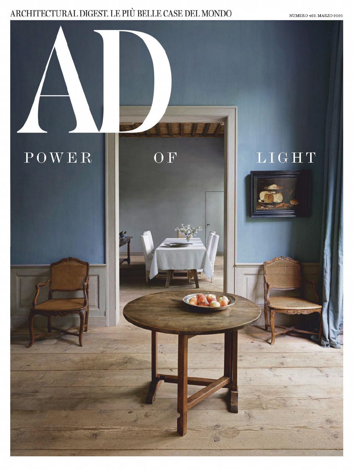 《AD》意大利版室内室外设计杂志2020年03月号