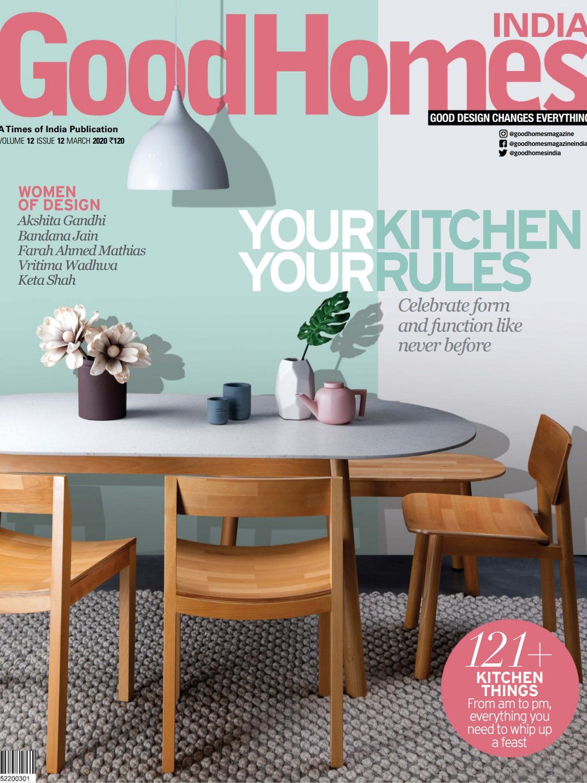 《Good Homes》印度版居家室内设计杂志2020年03月号
