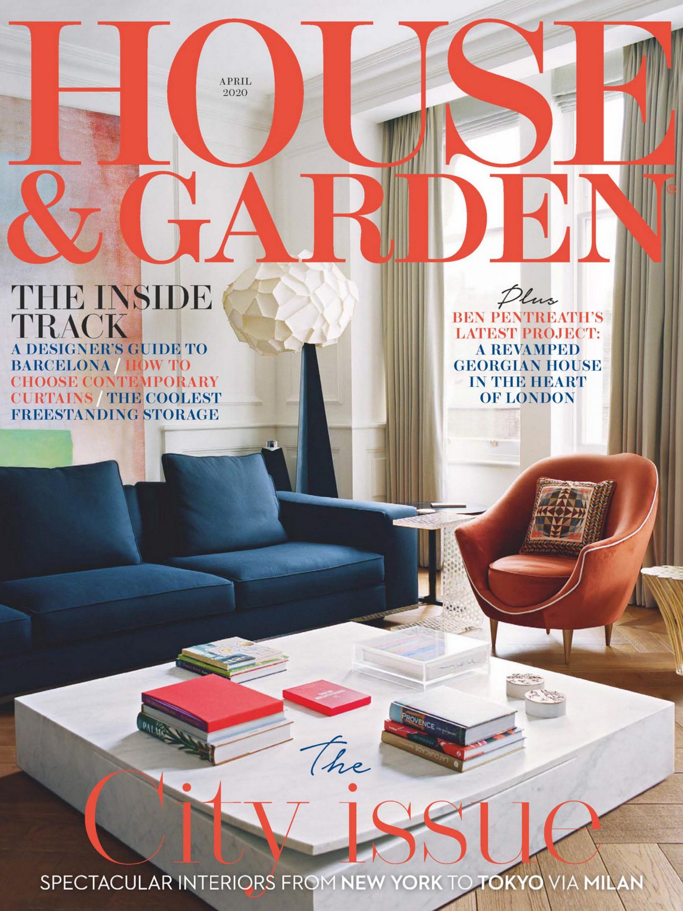《House & Garden》英国版时尚家居杂志2020年04月号