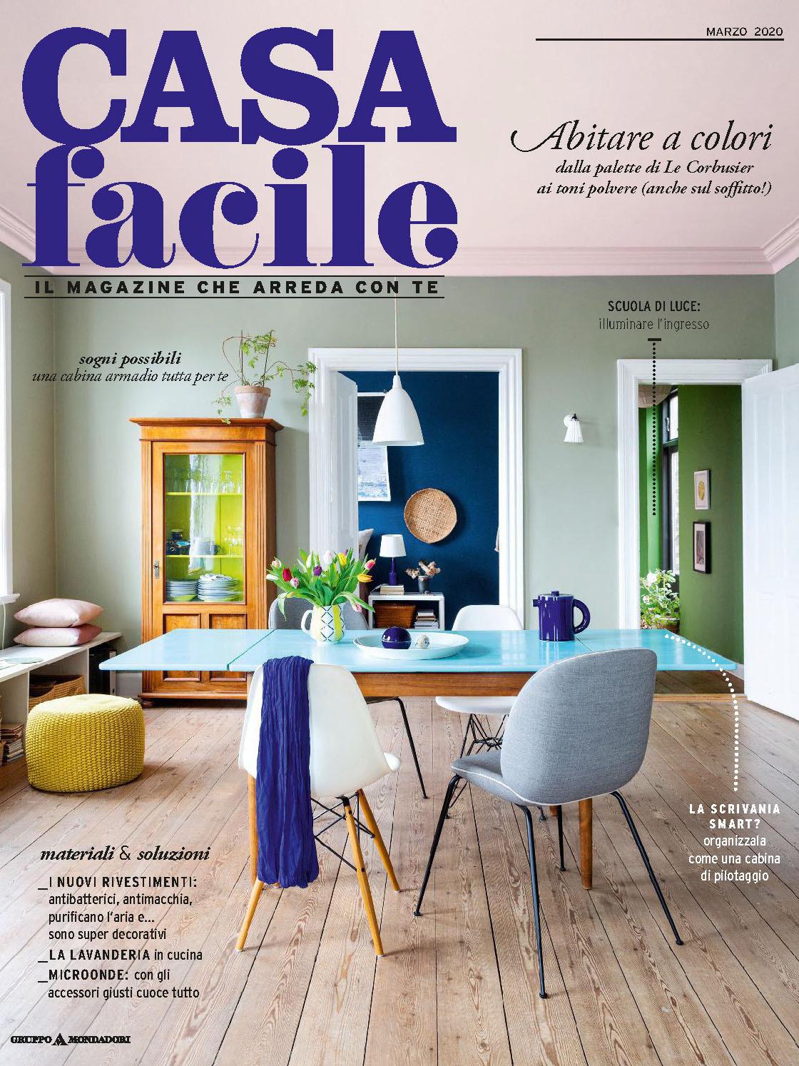 《Casa Facile》意大利家居空间装饰艺术杂志2020年03月号